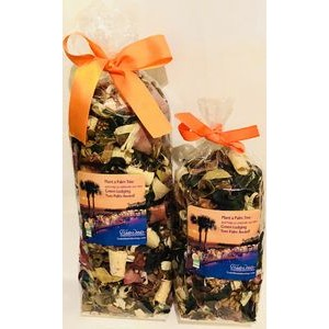 Sandalwood and Amber Scented Potpourri
